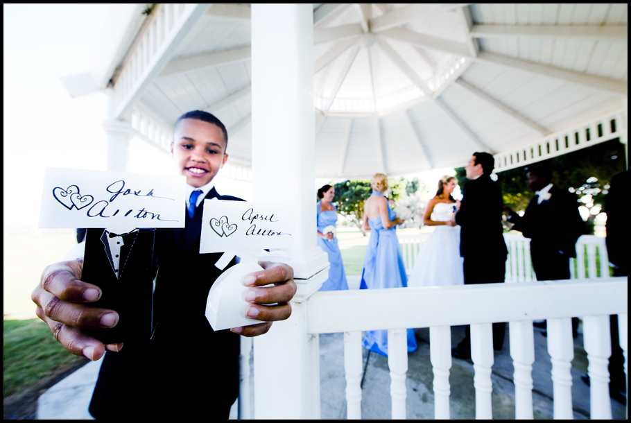 Ring Bearer With Names