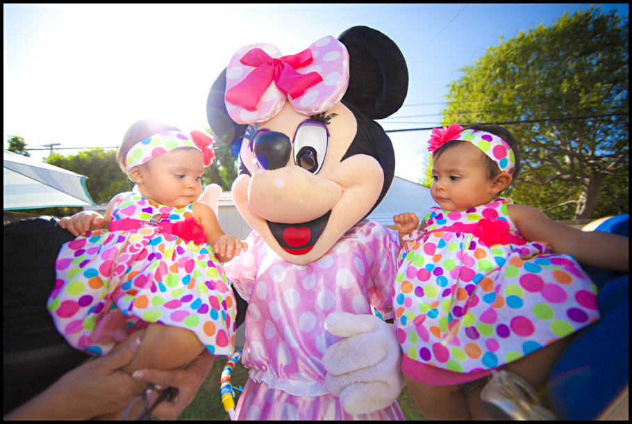 Minnie With Twins- small