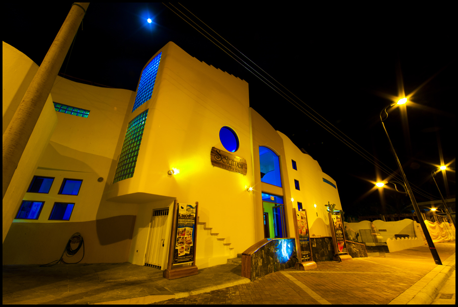 Hotel Solymar Night Shot