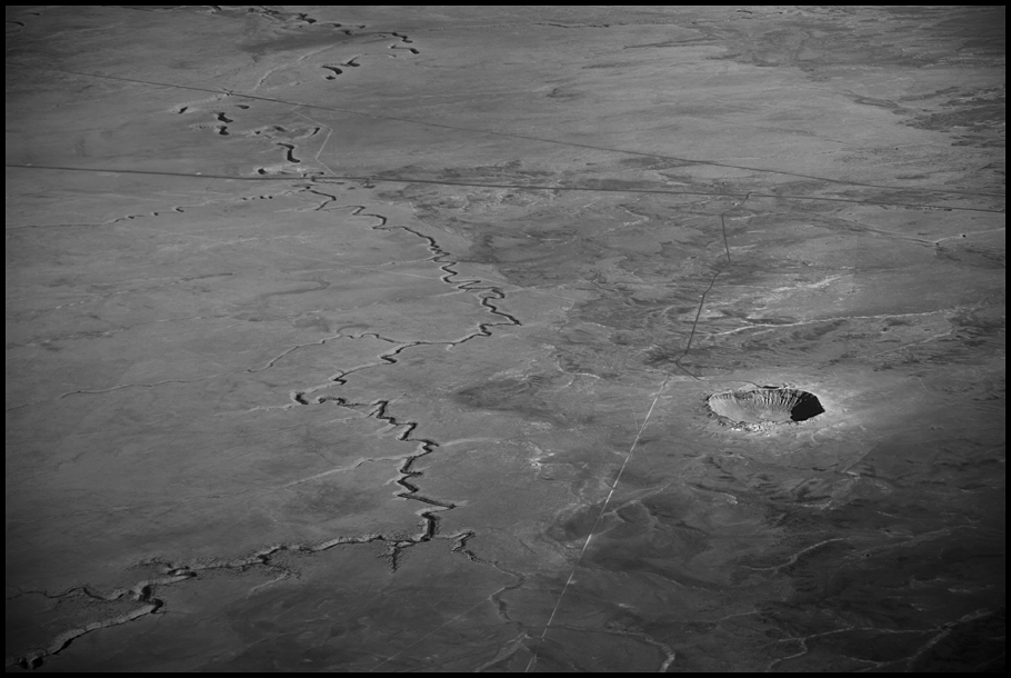 Meteor Crater Landma#78D5E4