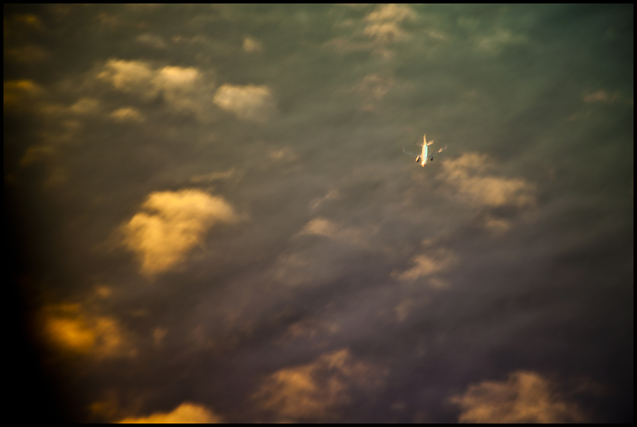Plane Below- small